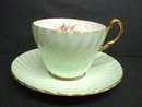 Gorgeous Foley Cup and Saucer   England  Foley China Teacup Set