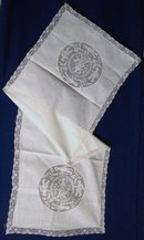 Victorian Runner Filet Lace