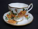 Special Cup and Saucer by Queen Anne