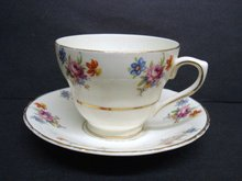 Very pretty Longton Teacup Set