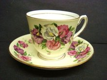 Fantastic Teacup Set by Duchess China
