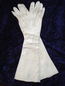 Victorian Opera Gloves Kidskin Leather