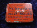 Tiny Tin Box Schrader Valve