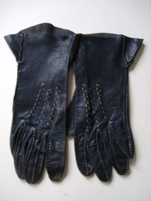 Vintage Gloves - Hand Stitched