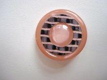 Antique Celluloid Deco Button