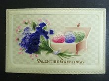 Valentine Greetings Postcard