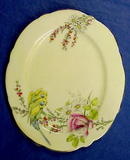 30's Paragon China Princess Margaret Rose Plate