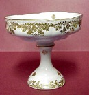 Limoges Comport - High Pedestal