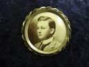 Special Victorian Miniature Portrait BROOCH