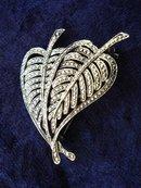 Fantastic Silver Tone Brooch