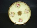 Antique Bavaria Plate - Pink Roses
