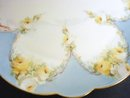 Hand Decorated Plate - Yellow  Roses
