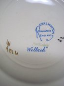 Royal Winton Plate - Welbeck