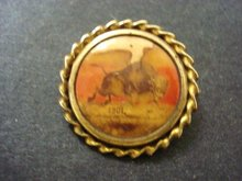 1901 Pin Brooch