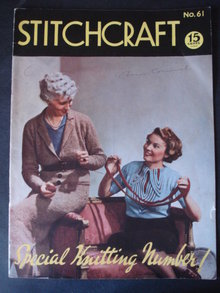 1937 STITCHCRAFT Magazine No 61