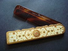 Pocket Comb / Case Stratton England