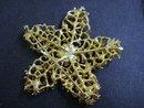 Beautiful  Brooch Large Snowflake Broach