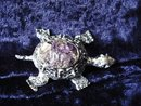 Very Pretty Vintage Turtle Brooch