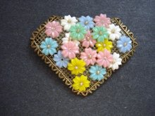Beautiful Dress Clip Brooch
