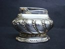 Ronson Cigarette Lighter  Silver - Crown