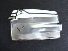 Ronson Cigarette Lighter Deco Style