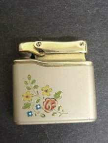 Colibri Cigarette Lighter - Floral