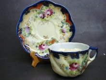 Royal Nippon Moustache Cup and Saucer