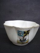 Shelley Sugar Bowl Crestware - Oban