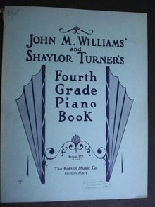 Fourth Grade Piano Book By John M Williams
