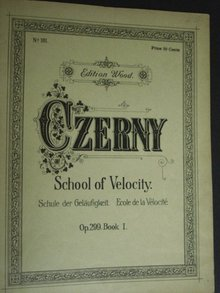 Music Book by Carl Czerny