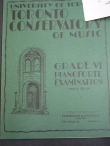 Music Book Grade VI by Heintzman
