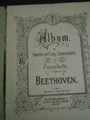 Beethoven Album for Pianoforte