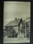 Vintage Postcard Presbyterian Manse