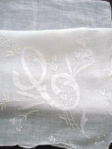 Fine Hankie - Handkerchief Monogram