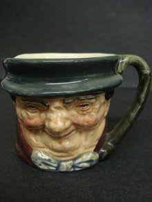 Character Jug Tony Weller by Royal Doulton