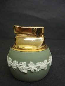 Wedgwood Table Lighter Green Jasperware