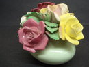 Staffordshire China Flowers/Vase Floral