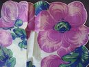 1940-50's Floral Printed Handkerchief