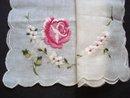 Gorgeous Vintage Hanky Handkerchief