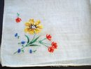 Very Pretty Hanky Embroidery Petit Point
