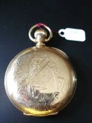 14K Gold Pocket Watch Elgin by Dueber