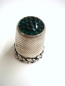 Beautiful Sterling  Thimble