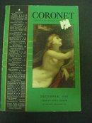1938 CORONET Magazine Cover - Study of Venus