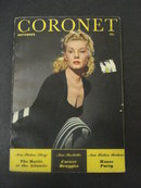 1941 CORONET Magazine Cover Girl Miss Paaris
