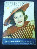 19412CORONET Magazine Cover Girl Miss Whitney