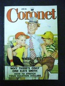 1952 CORONET Magazine