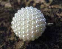Vintage Pearl Button