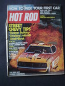 HOT ROD Magazine April 1973