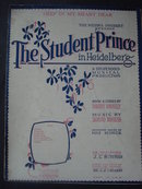 Sheet Music The Student Prince