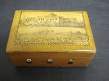 Mauchlineware Spool Thread Box